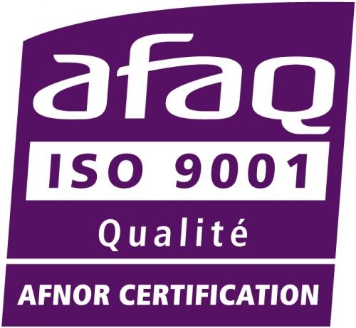 Formation certifiée par l'AFNOR selon la norme ISO 9001 version 2015. Le domaine d'application concerne la conception et la réalisation de formation par apprentissage
